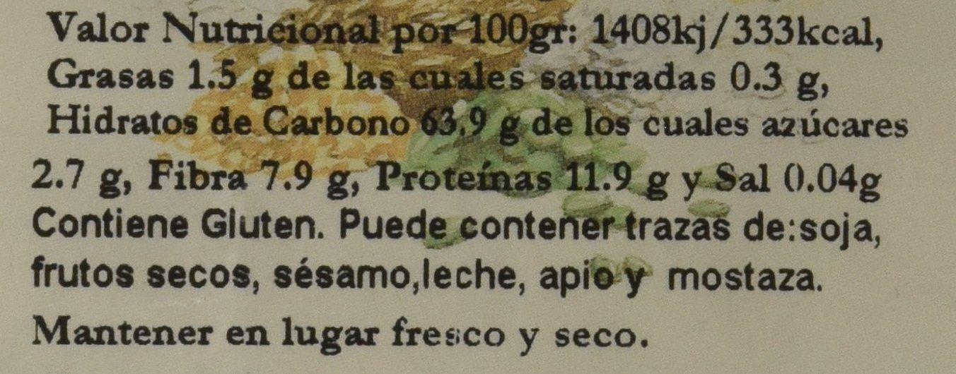 Bionsan Harina Integral de Trigo - 6 Paquetes de 500 gr - Total ...