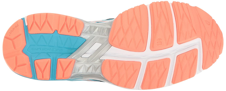 ASICS Women's Gt-1000 5 Running Shoe B01GU9LF1M 7.5 B(M) US Aquarium/Silver/Flash Coral