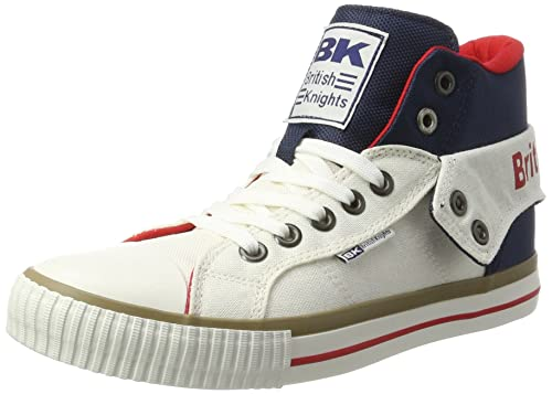British KnightsRoco - Zapatillas Hombre, Color Blanco, Talla 45 EU: Amazon.es: Zapatos y complementos