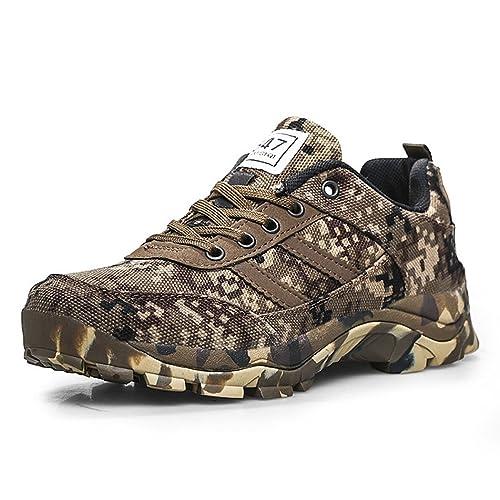 Calzado Deportivo Masculino de Seguridad Ultraligera Zapatos de Trabajo de Senderismo con Suelas Kevlar Senderismo para