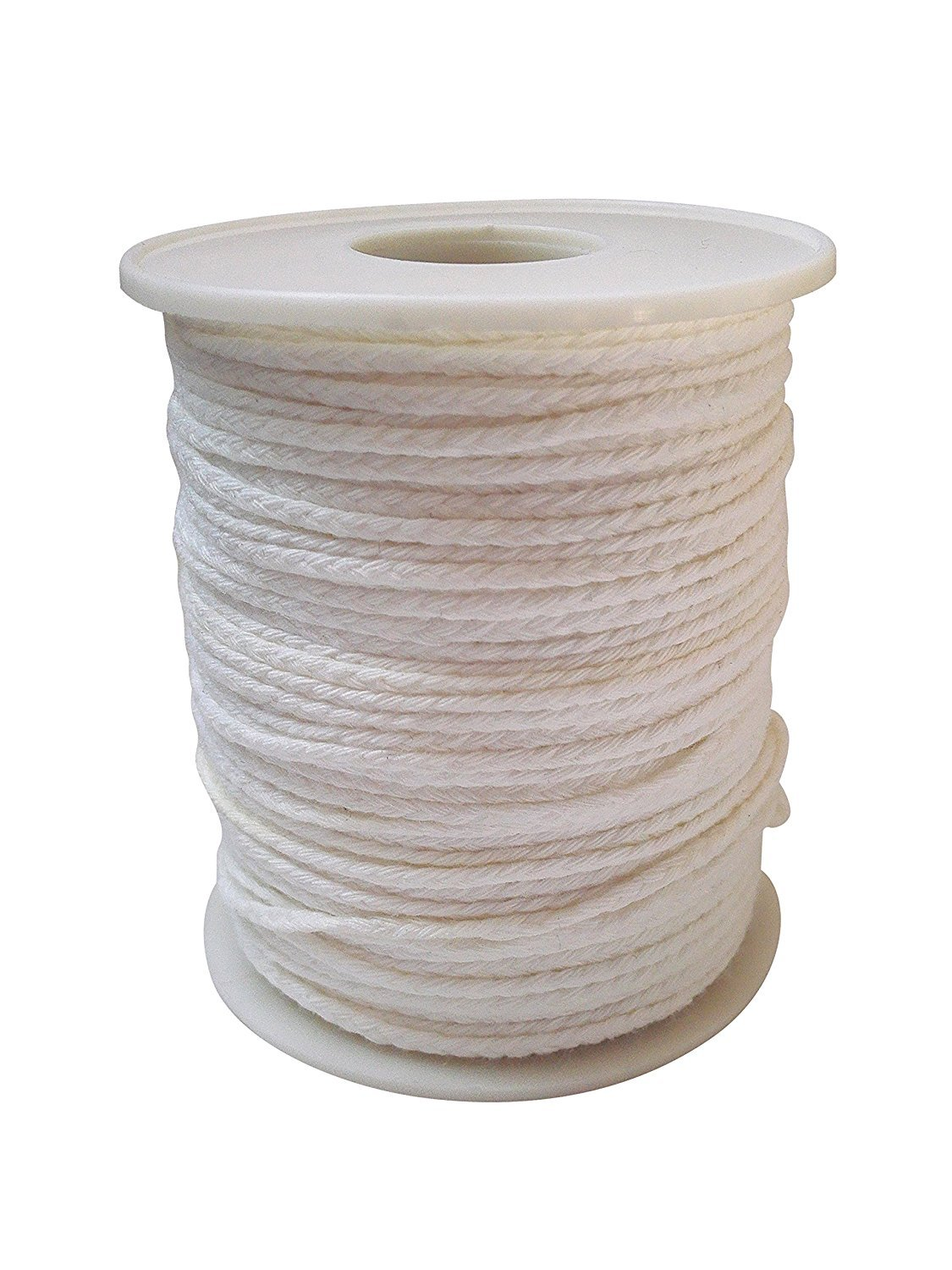 Beeswax Hemp Wick,200 ft Spool,100% Organic Hemp Wick Well Coated With Natural BeesWax,Standard Size(1.0mm),Candle Wick Oameusa WA0030