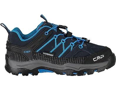 CMP Campagnolo Rigel Low WP, Chaussures de Randonnée Hautes Mixte Adulte, Marron (Teak-Asphalt), 34 EU