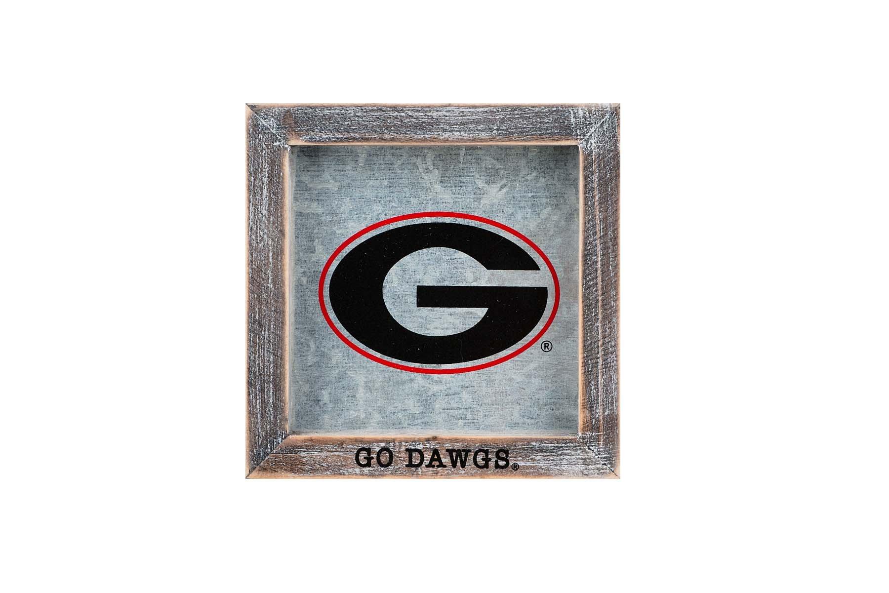 Glory Haus GA Go Dawgs Logo Table Top, Multicolor
