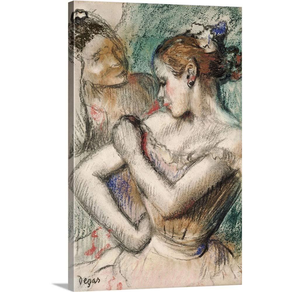 Edgar Degas「Dancerプレミアムthick-wrapキャンバス壁アートプリント、1896 20
