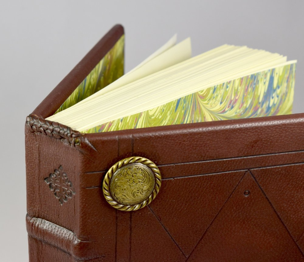 Custom Writing Journal Gift Set with Personalized Leather Book