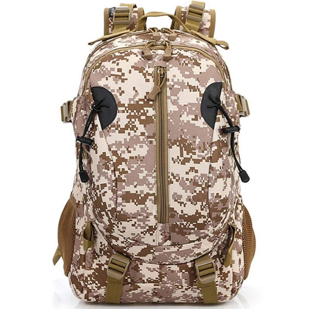 MYXMY Outdoor Waterproof Sports Backpack Fashion Casual Army Fan Bag Travel Comfort Mountaineering Bag (Color : B)