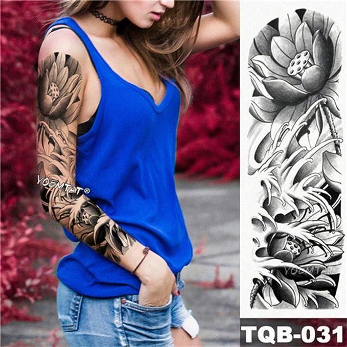 Tatuaje de brazo militar de manga larga Tatuaje de guerrero ...