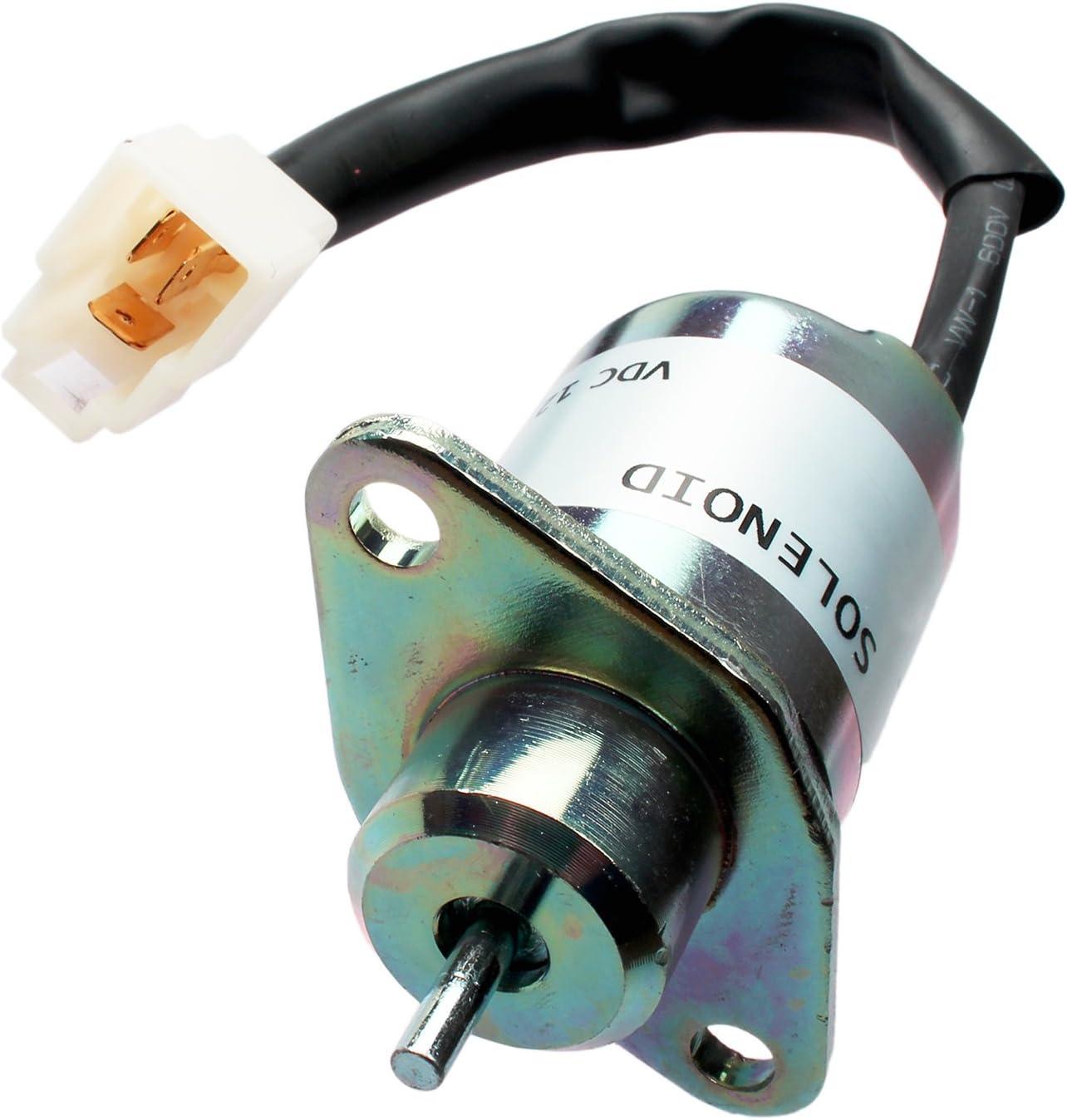 1503ES-12A5UC5S Fuel Shutoff 12V Stop Solenoid FITS 16616-6001-0 SA4569T