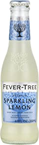 Fever-Tree Sparkling Lemon, 6.8 Ounce Glass Bottles (Pack of 24)
