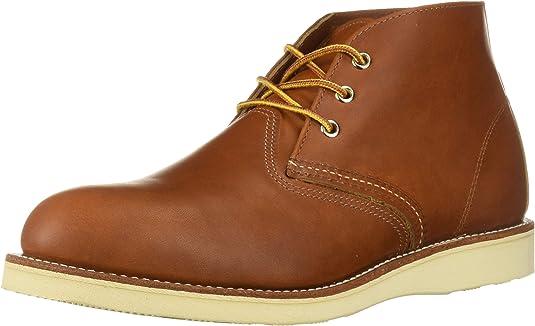 Red Wing Shoes - Zapatos de cordones de cuero para hombre, Marrón (Oro/Iginal), 39 EU