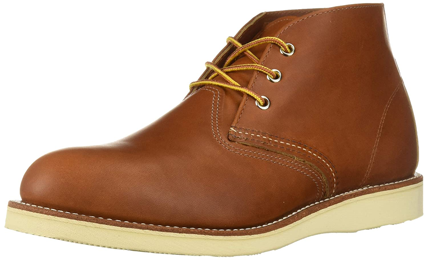 Red Wing Shoes Work Chukka, Botas Cortas Hombre, Beige,