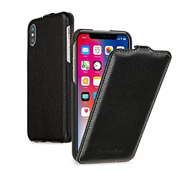 coque iphone x ouverture verticale
