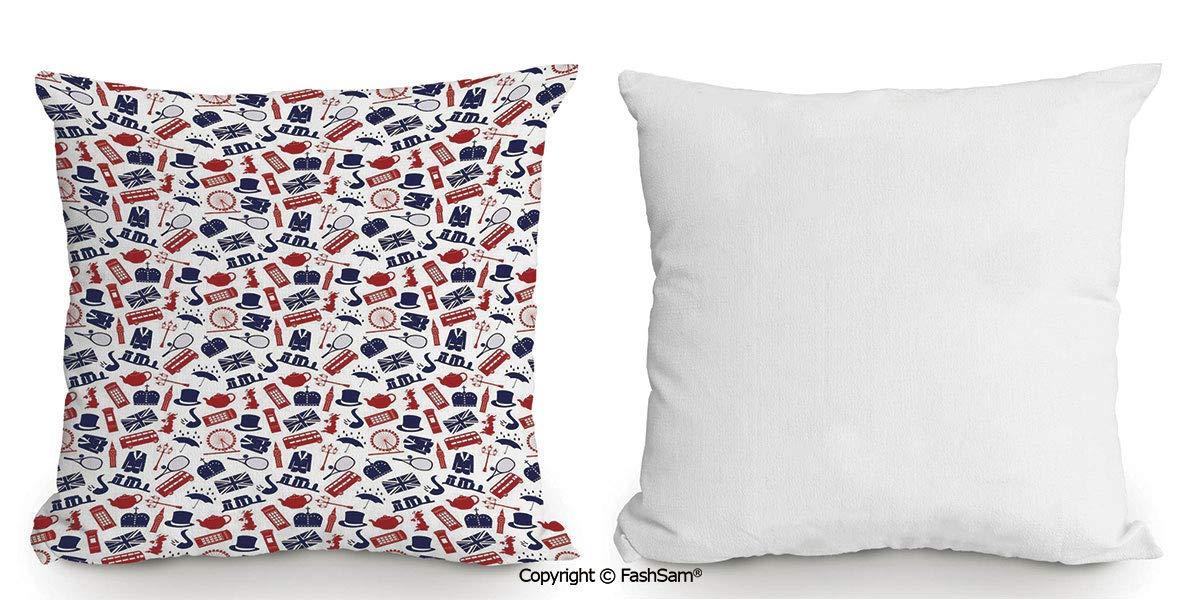 Amazon.com: FashSam - Funda de almohada decorativa con ...