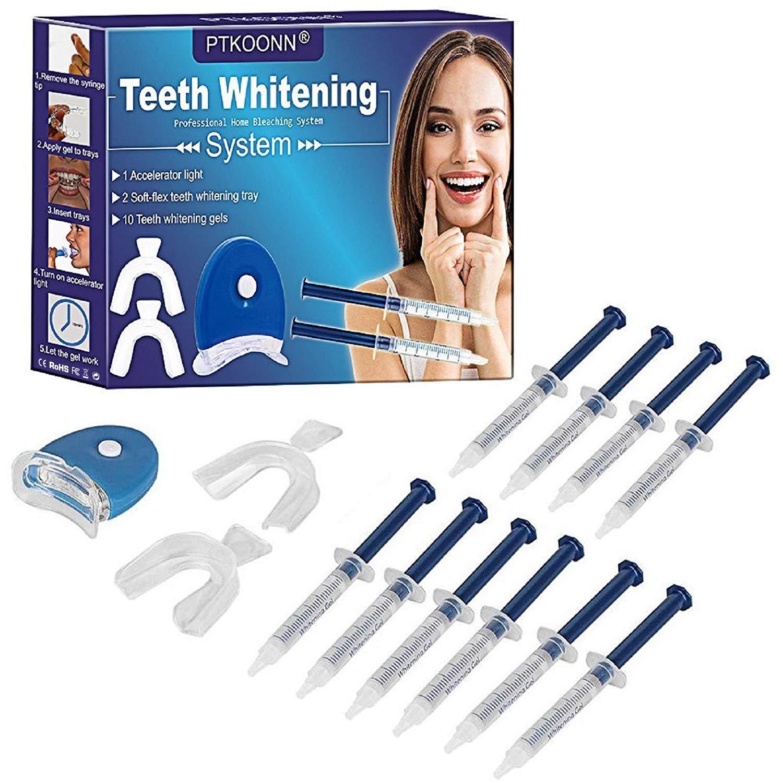 Teeth Whitening Kit,Teeth Whitening Light,Teeth Whitening Accelerator Light,Kit Tooth Whitening,Teeth Whitening Kit At Home Whitening,10 Mins Express Result, Stain Remover Express, Led Accelerator Lig