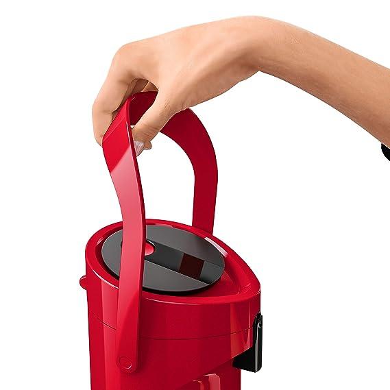 TEFAL PONZA Thermoskanne mit Pumpe 19 Liter weiß