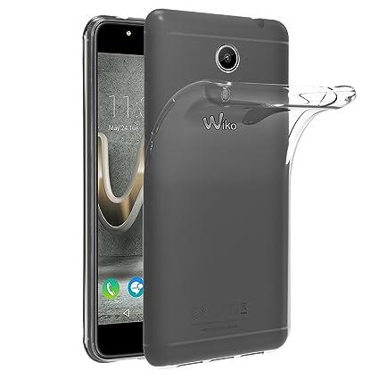 iVoler Funda Carcasa Gel Transparente para Wiko U Feel Prime, Ultra Fina 0,33mm, Silicona TPU de Alta Resistencia y Flexibilidad