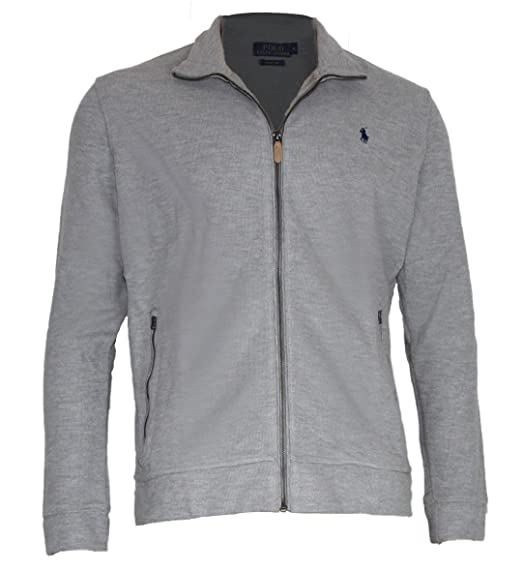 Ralph Lauren Polo Jacke Estate Rib Grau