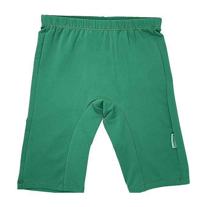 aa7004f44 POPINJAY Boys Girls' SPF50+ Jammers Swim Shorts Bottoms (Emerald Green, ...