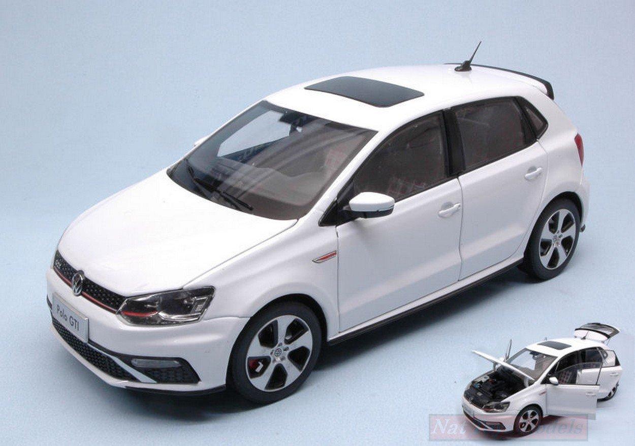 PAUDI MODEL PD2339W VW NEW POLO GTI 2015 WHITE 1:18 MODELLINO DIE ...