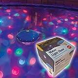 Pool-Beleuchtung für Schwimmbecken Unterwasser-LED-Lichtshow schwimmend von Gartenpirat®