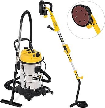 Power Plus® – Lijadora para construcción en seco + aspiradora en ...