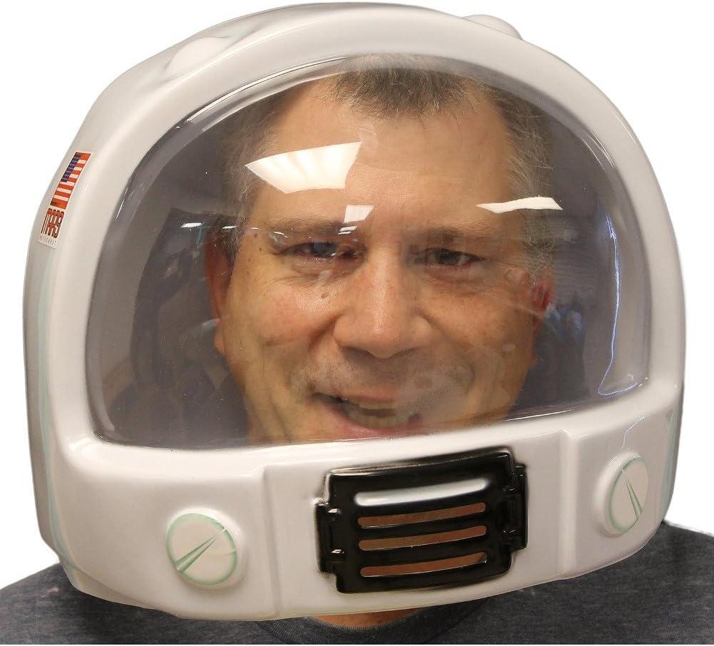 MyPartyShirt Casco de astronauta de plástico, NASA, Estados Unidos ...