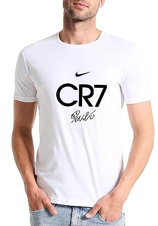 46233bf51f4 Mott2 Unisex Cotton Cristiano Ronaldo CR7 Juventus FC Football Club Printed  Round Neck Tshirt Jersey (
