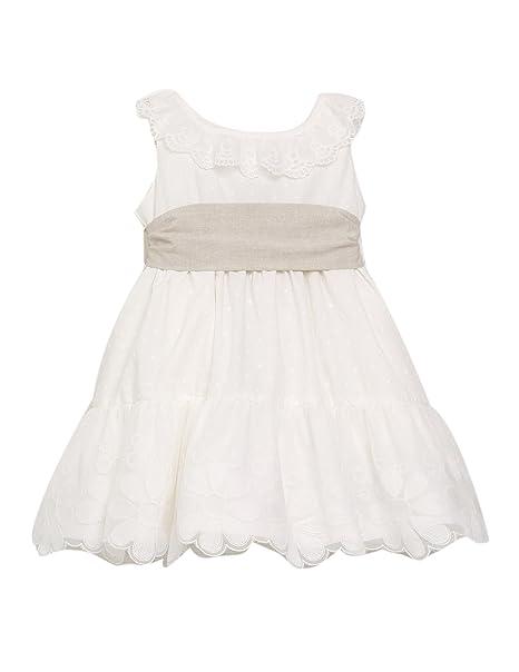 VESTIDO NIÑA blanco ORQUIDEA _ vestido niña ceremonia ...