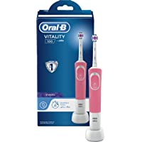 Oral-B Vitality 100 Pink Electric rechargeable toothbrush, with UAE 3 pin plug
