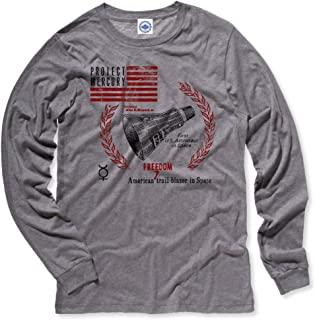 product image for Hank Player U.S.A. NASA Project Mercury/Freedom 7 Capsule Men's Long Sleeve T-Shirt