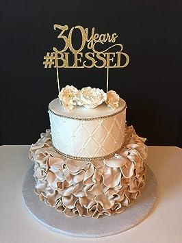 Monsety Anniversaire De Mariage Décoration Pour 30e