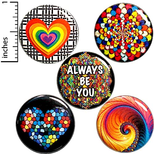 Beautiful handmade 3 Inch Rainbow
