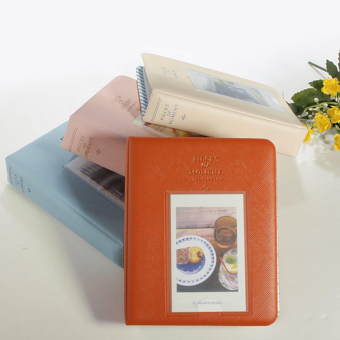 vicfeed 64bolsillos Mini Album Caso de almacenamiento para fotos Polaroid) FMISSACGHJH597