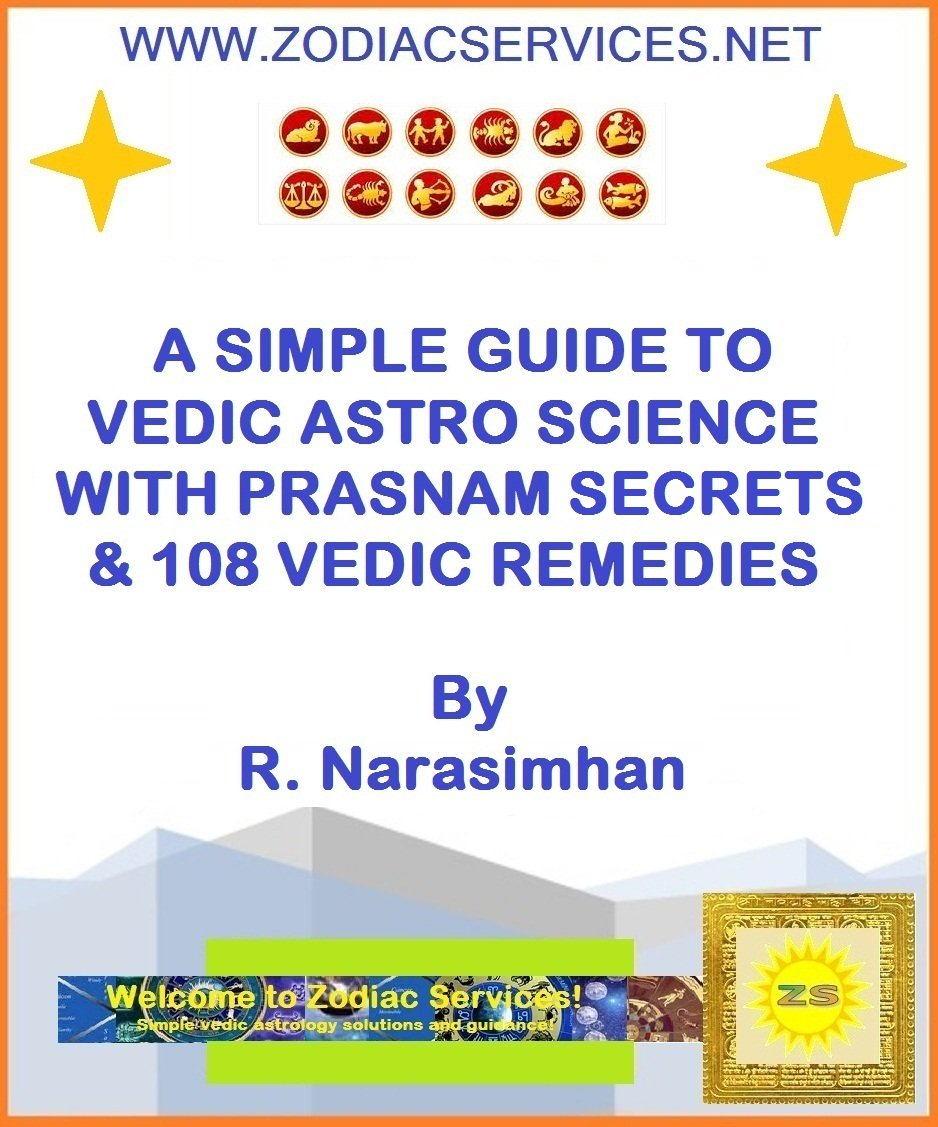 A SIMPLE GUIDE TO VEDIC ASTRO SCIENCE WITH PRASNAM SECRETS: A SIMPLE GUIDE  TO VEDIC ASTROLOGY, PRASNAM & 108 VEDIC REMEDIES See more