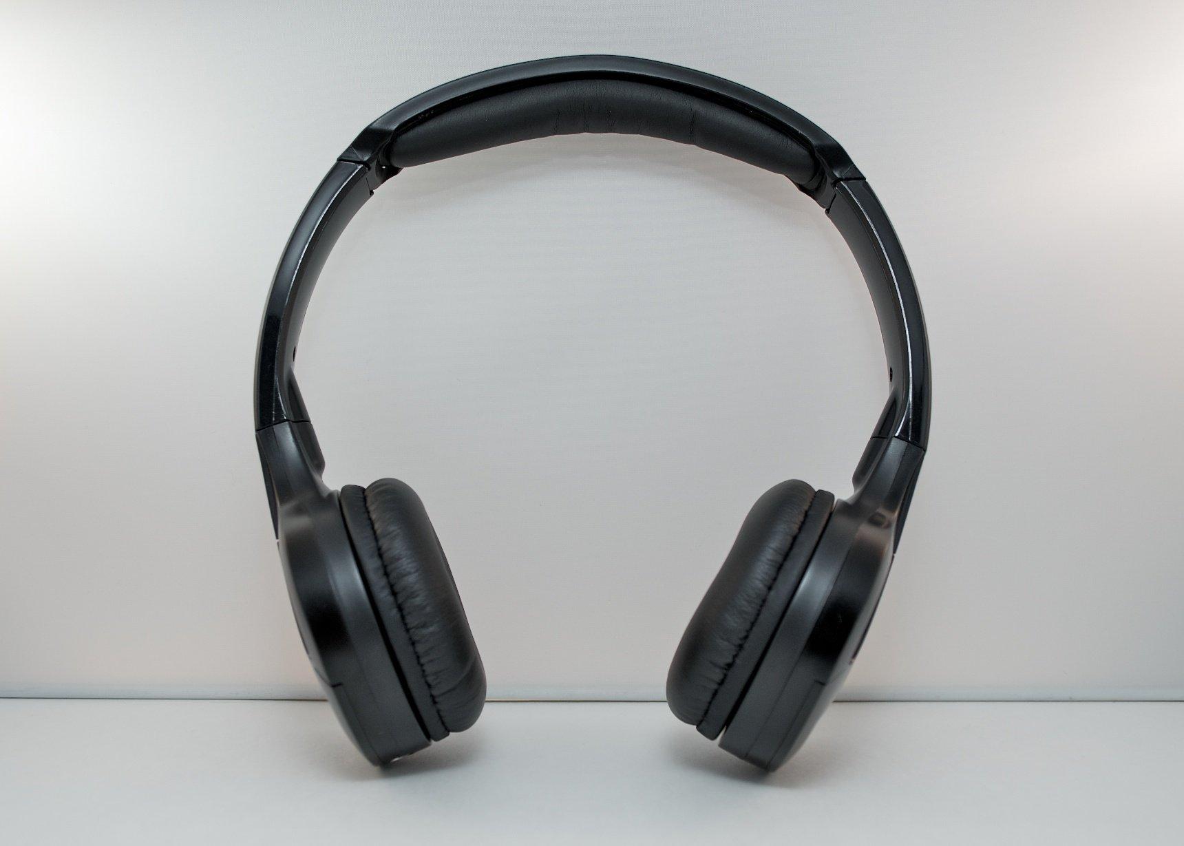 Honda CR-V Wireless DVD Headphones Kids Headset (Black)