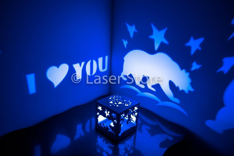 Amazon Nursery Night Lights Bear Gifts Girlfriend Gift Birthday Ideas For Her Romantic Present Love Candle Holder LED Light Lantern Handmade
