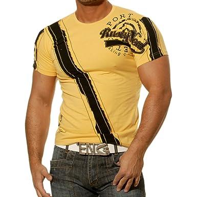 Rusty Neal - Camiseta para Hombre Polo Polo Camisa Japan Style ...
