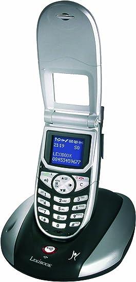 Lexibook dp510fr teléfono inalámbrico con tapa DECT/GAP manos libres: Amazon.es: Electrónica
