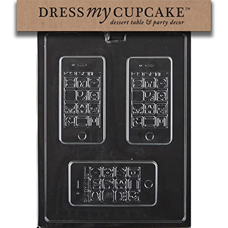 Amazon.com: Vestido My Cupcake Chocolate Candy Mold, Apple ...