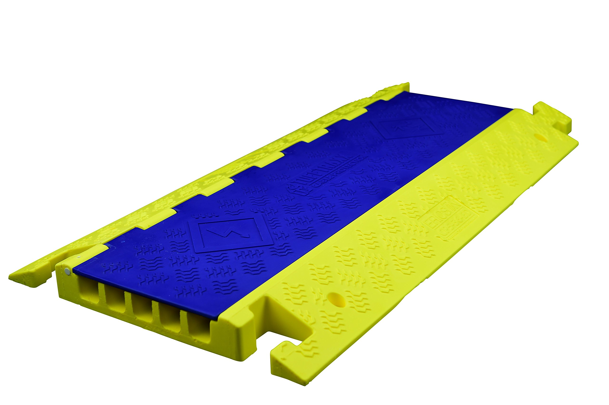 Tuff Traxx CP5-36-ED Polyurethane Cable Guard, Extreme Duty, 5 Channel, 50000 lb./Axle, 36'' Length, 19.5'' Width, 2'' Height