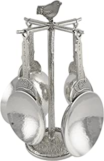 product image for Crosby & Taylor Bird Pewter Measuring Cups with Display Post