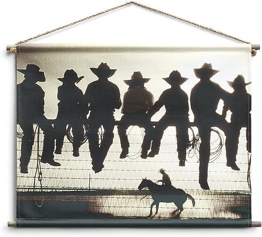 Big Sky Carvers DEMDACO American Cowboy Canvas Wall Art
