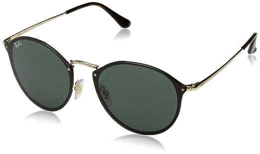 b51eba2171faf Óculos de Sol Ray Ban Blaze Round RB3574N 001 71-59  Amazon.com.br ...
