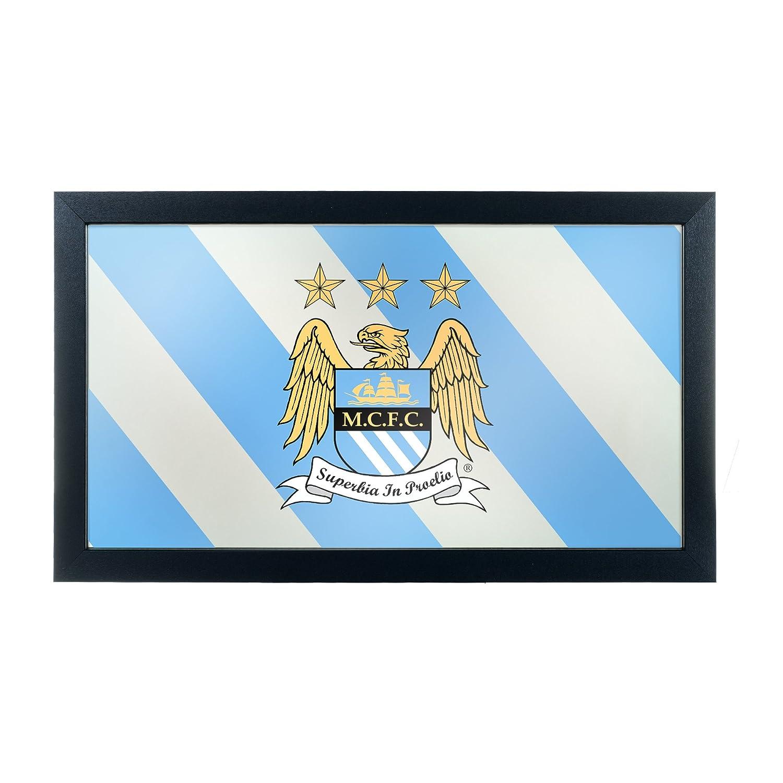 Premier League Manchester City gerahmt Logo Spiegel: Amazon.de ...