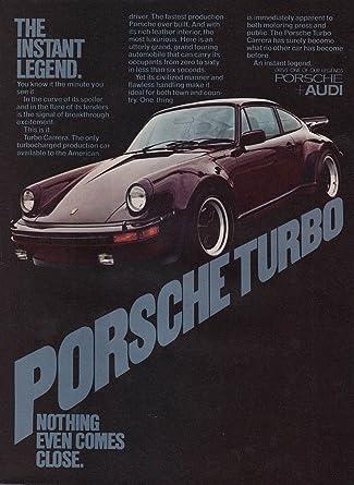 Porsche 911 Carrera Turbo ad 1977