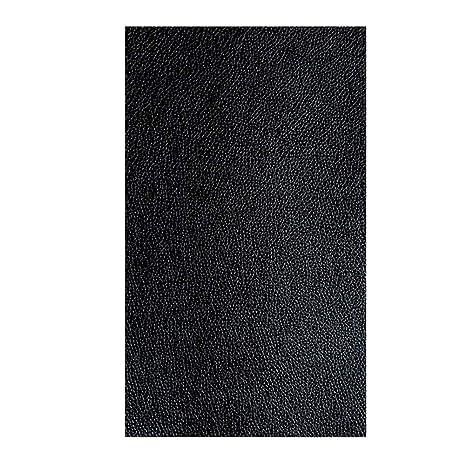 Outtybrave - Parches Adhesivos de Piel sintética para Reparar sofás, PU, Negro, 10 * 20CM