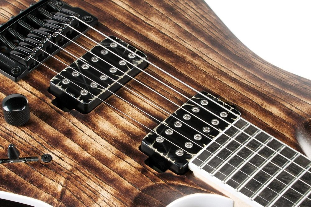 Amazon.com: Ibanez RGA Iron Label RGAIX6U - Antique Brown Stained: Musical Instruments