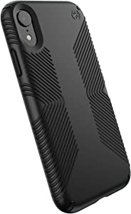 Speck Products Presidio Grip iPhone XR Case, Black/Black