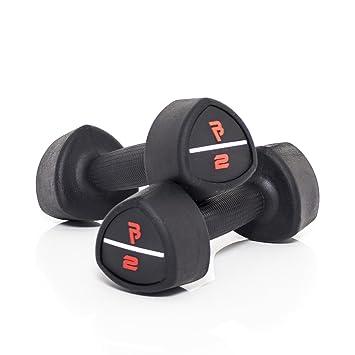Bodypower Studio mancuernas de goma - 2 kg x 2: Amazon.es: Deportes y aire libre