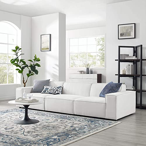 Modway Restore 3-Piece Upholstered Sectional Sofa